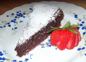 Plated Serving of CakeIVJPG
