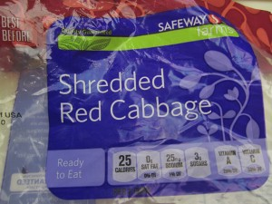Bag of cabbage