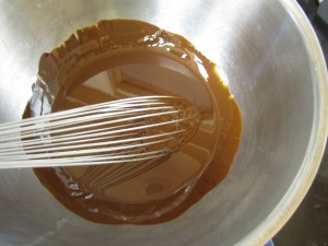 Whisking in the Olive Oil