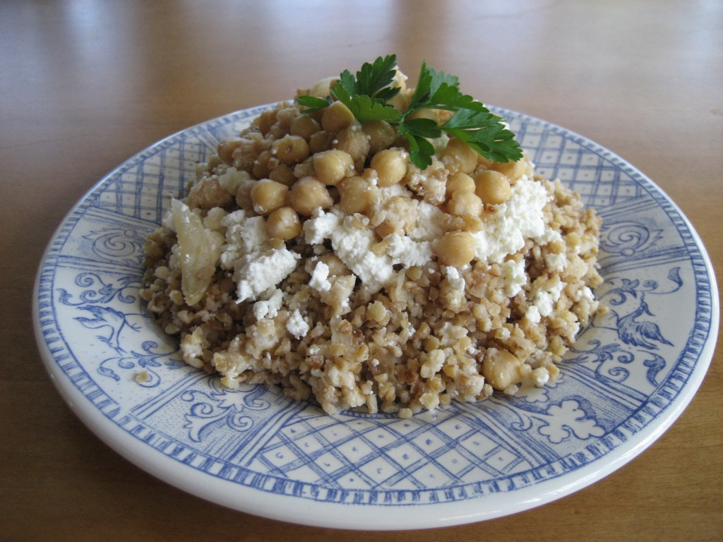 Bulgur with Cheese 2