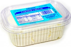 Farmer cheese  low fat 16oz
