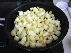 Apples for compote
