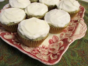 Cupcakes on plate II